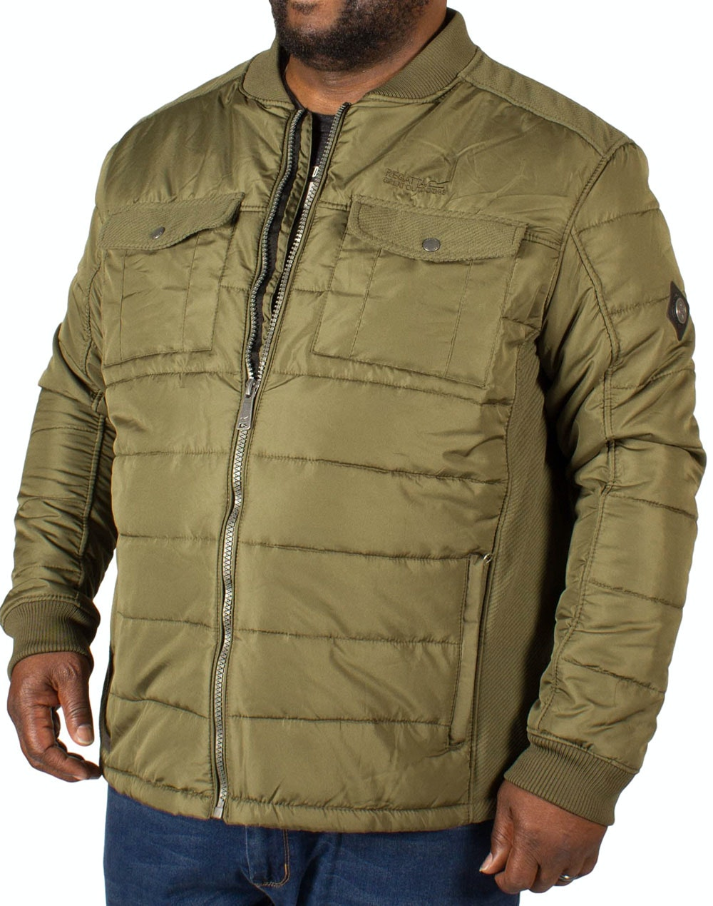 Regatta Larrie Quilted Jacket - Olive