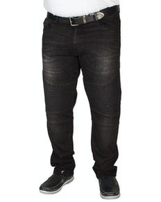 D555 Milo Biker Jeans Vintage Black
