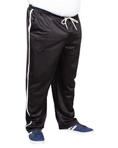 Bigdude Tricot Stripe Joggers Black