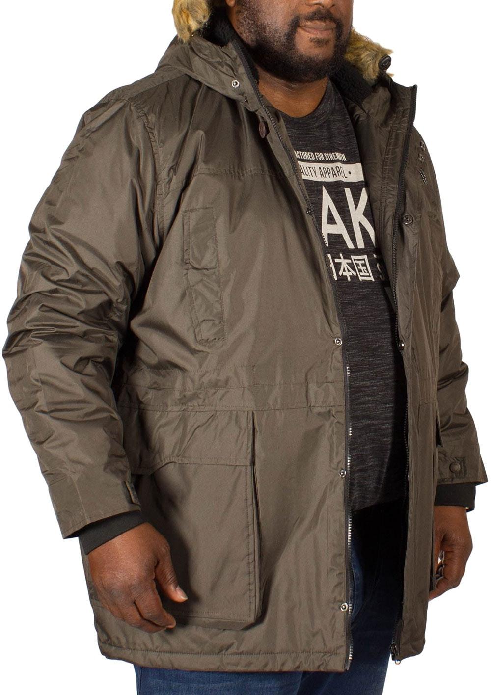 D555 Lovett Parka Jacket Khaki