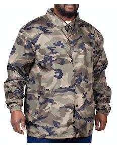 Bigdude Lightweight Camouflage Jacket Khaki
