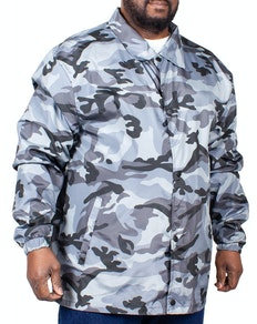 Bigdude Lightweight Camouflage Jacket Grey