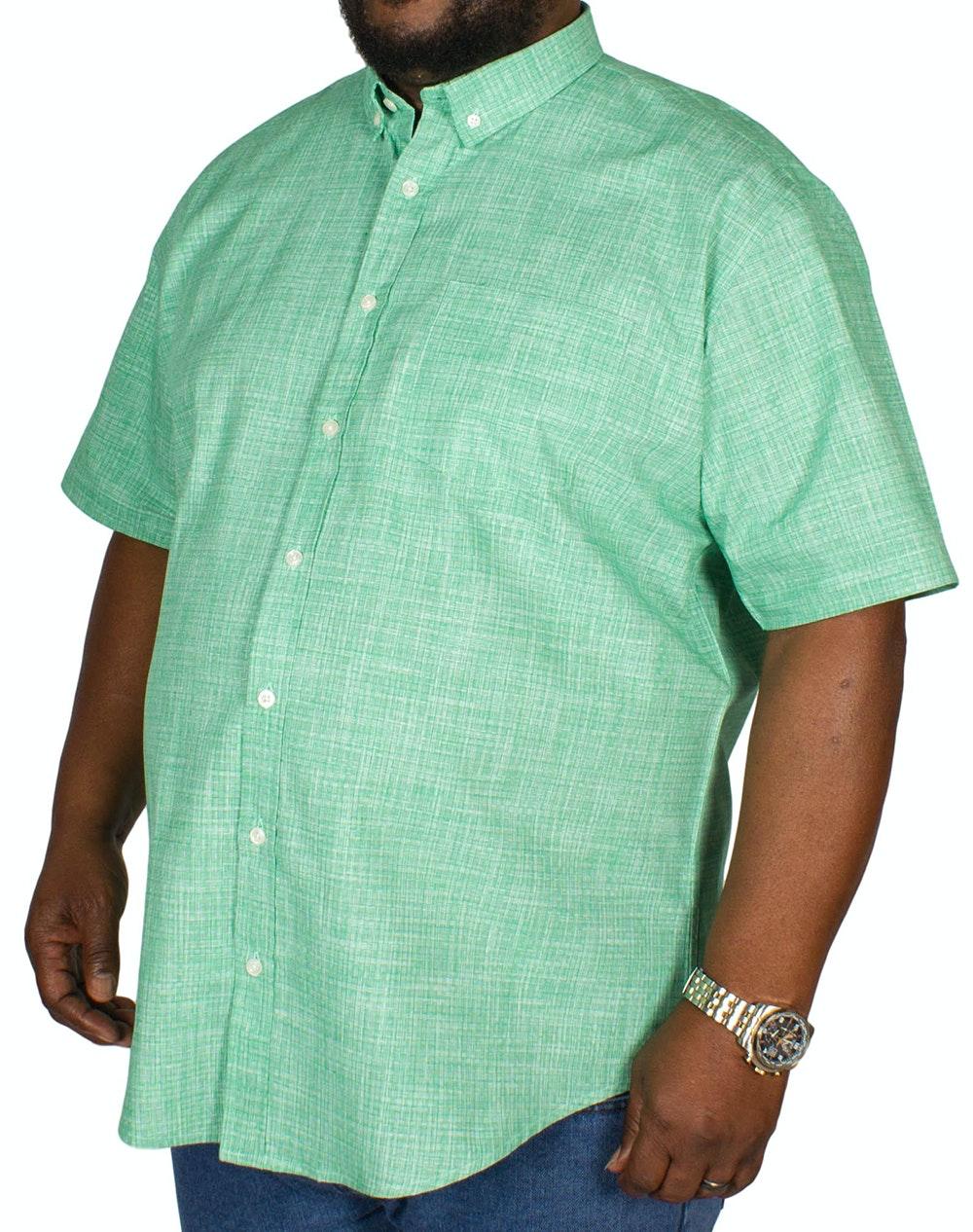 Bigdude Woven Pattern Shirt Green