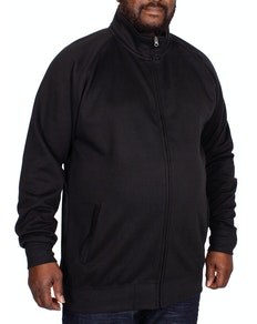 Kam Full Zip Fleece Jacket Black