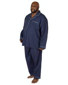 Espionage Traditional Pyjama Set Navy