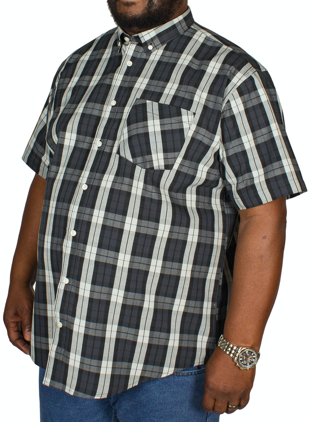 Bigdude Traditional Check Shirt Multi
