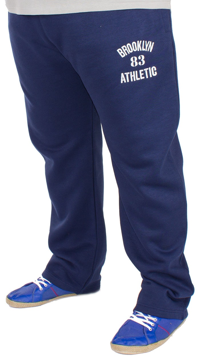 Bigdude Applique Joggers Navy