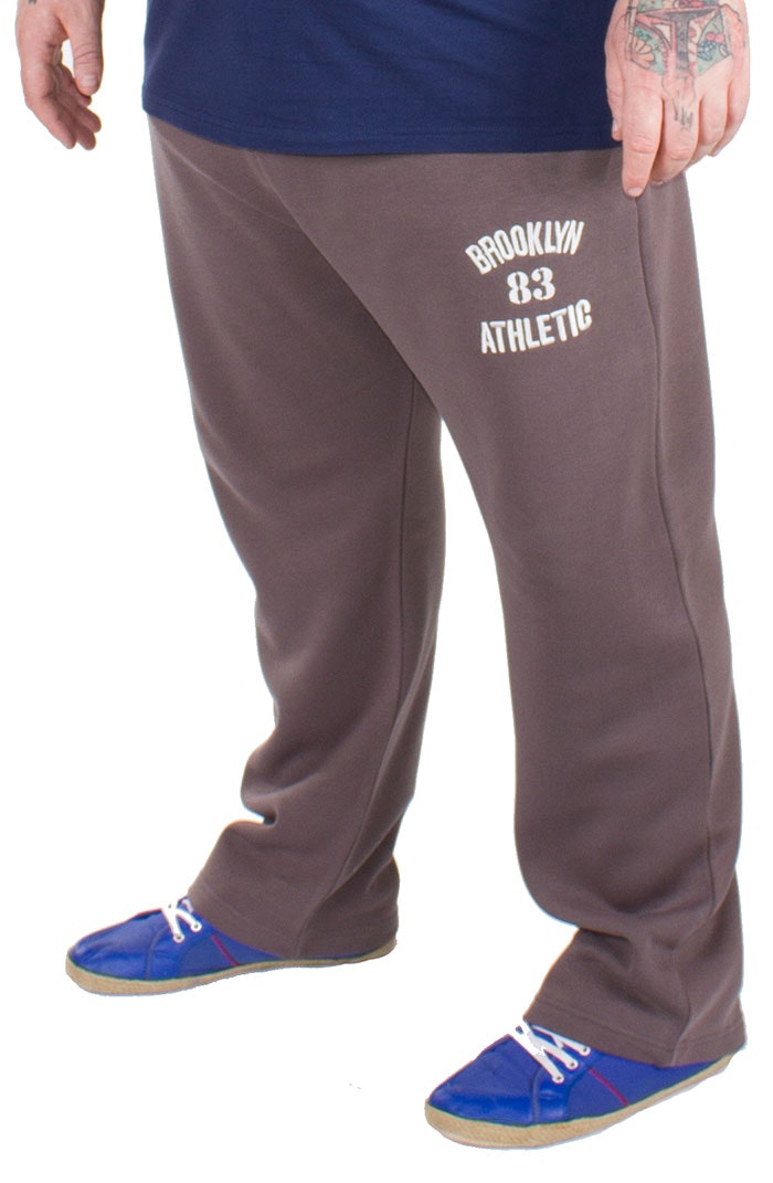 Bigdude Applique Joggers Graphite
