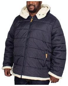 D555 Hudson Puffer Jacket Dark Navy