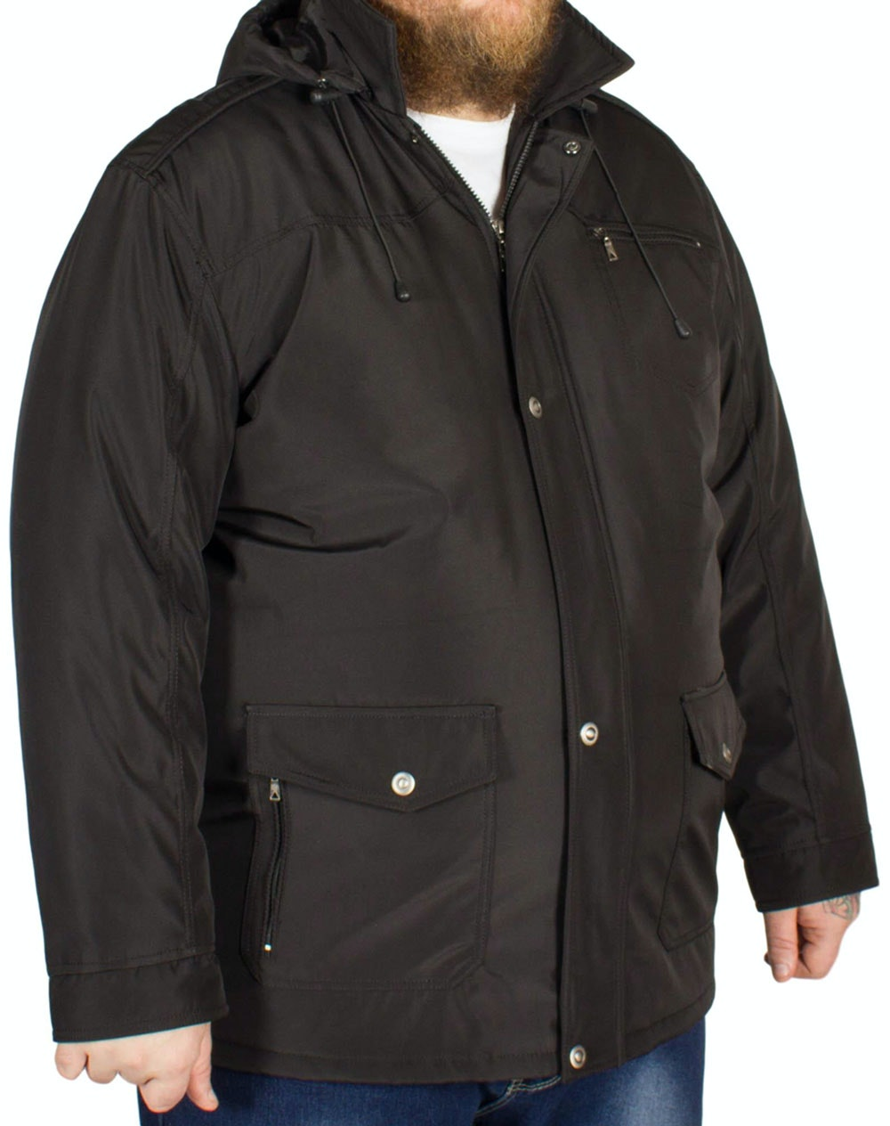 Saxon Brecon Coat Black