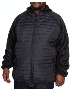Bigdude Casual Padded Jacket Black