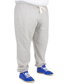 Baum Elasticated Joggers Grey