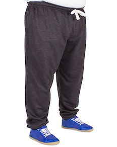 Baum Elasticated Joggers Charcoal
