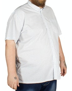 Bigdude Polka Dot Short Sleeve Shirt