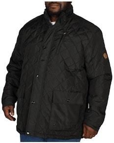D555 Justin Quilted Jacket Black