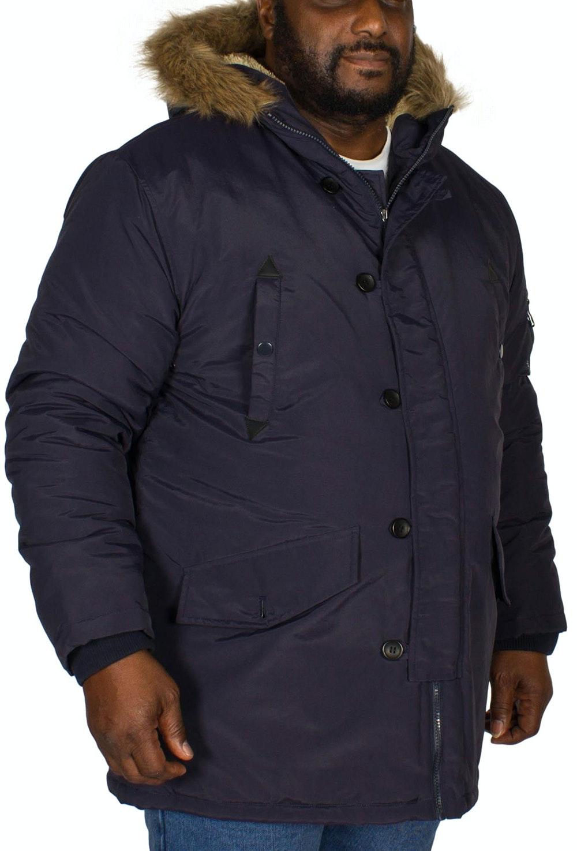 Bigdude Parka Coat Navy