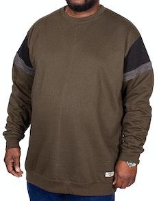D555 Clermont Cut & Sew Sweatshirt Khaki