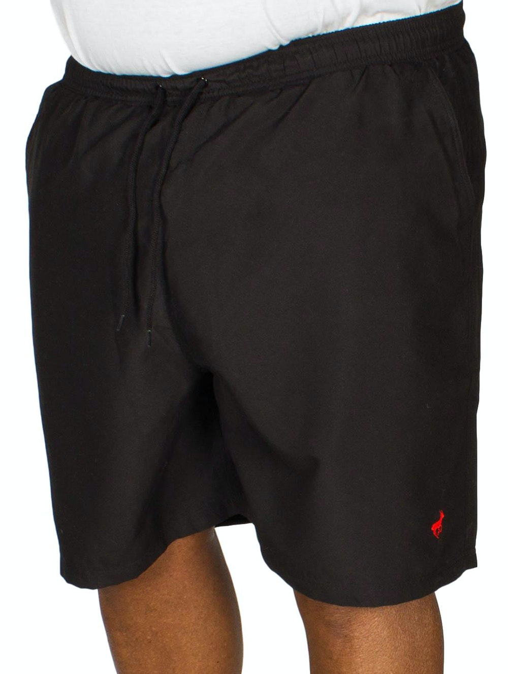 Bigdude Plain Swim Shorts Black
