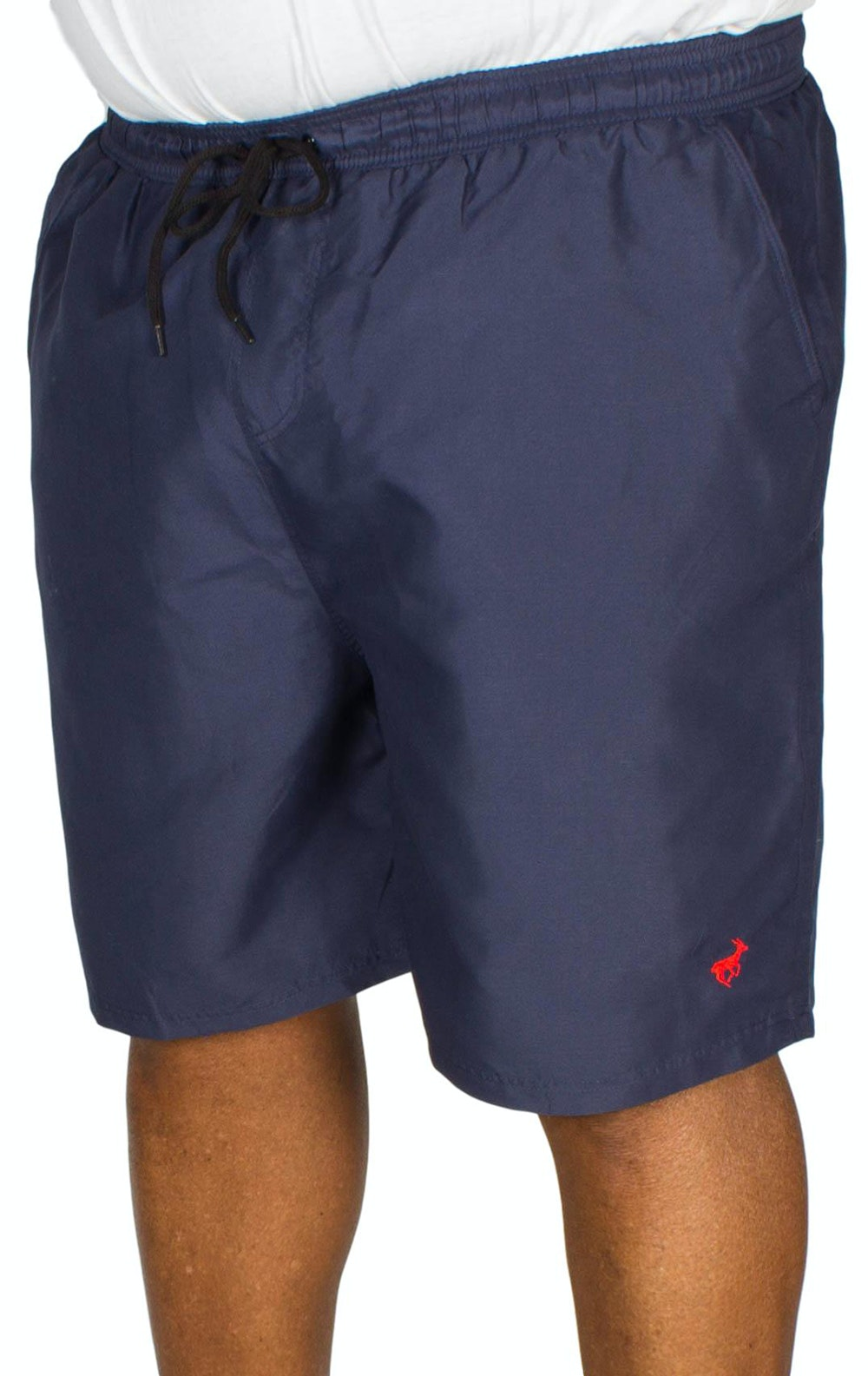 Bigdude Plain Swim Shorts Navy