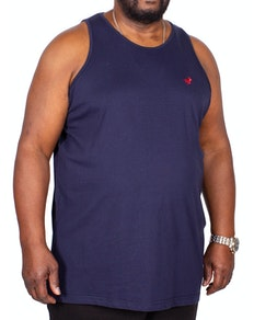 Bigdude Signature Vest Navy Tall