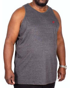 Bigdude Signature Vest Charcoal Tall