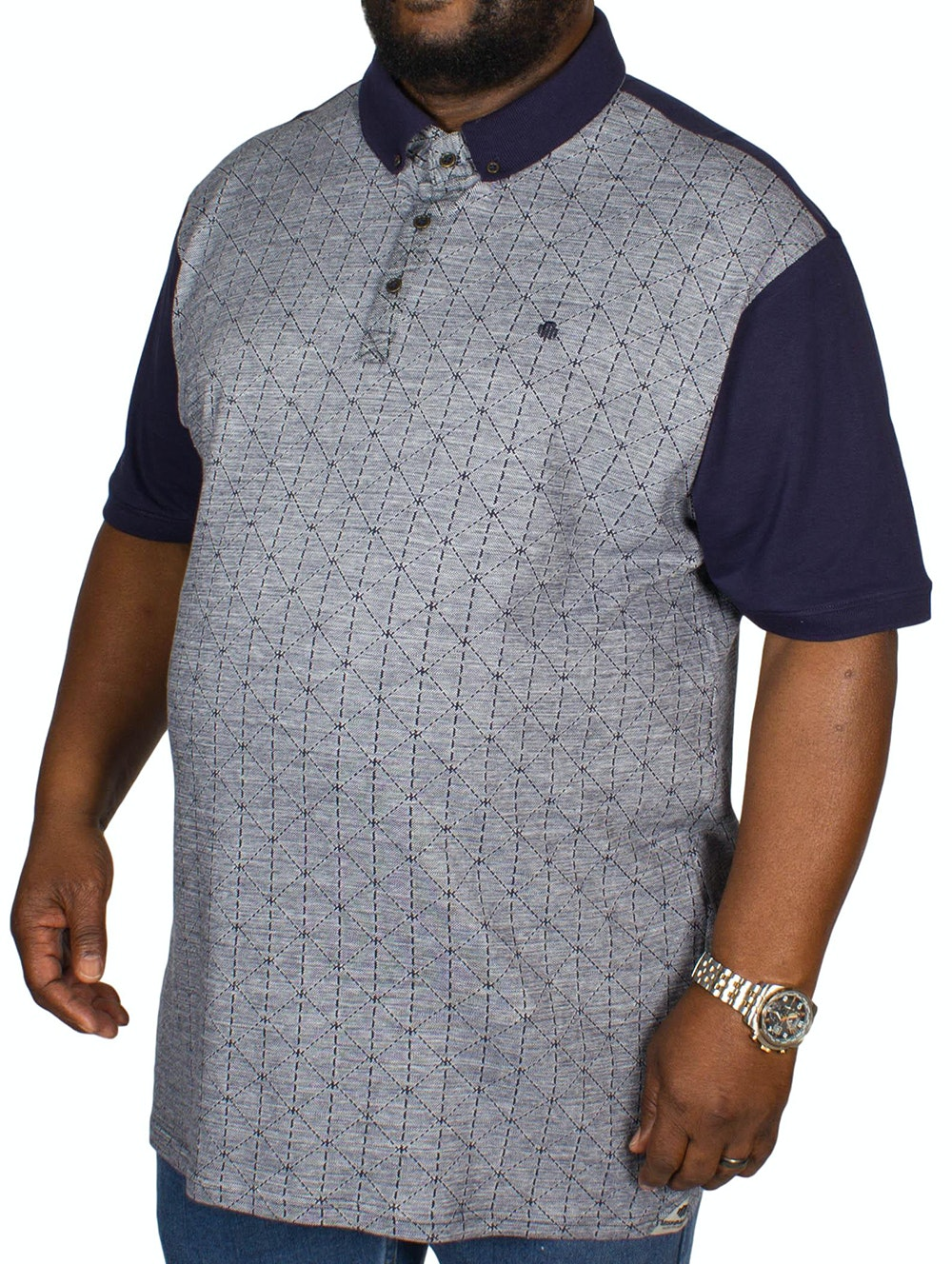Mish Mash Davie Polo Shirt Navy