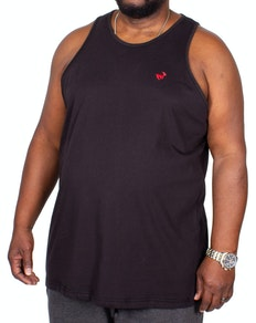 Bigdude Signature Vest Black Tall