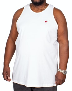Bigdude Signature Vest White Tall