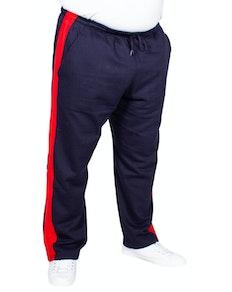Bigdude Straight Leg Jogger With Stripe Navy