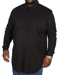 D555 Donnie Long Sleeve Jersey Shirt Black