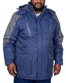 Carabou Pendle Waterproof Jacket Navy/Grey