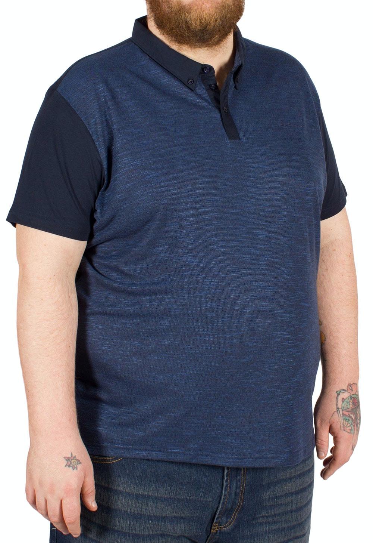 Ben Sherman Pique Polo Shirt Navy