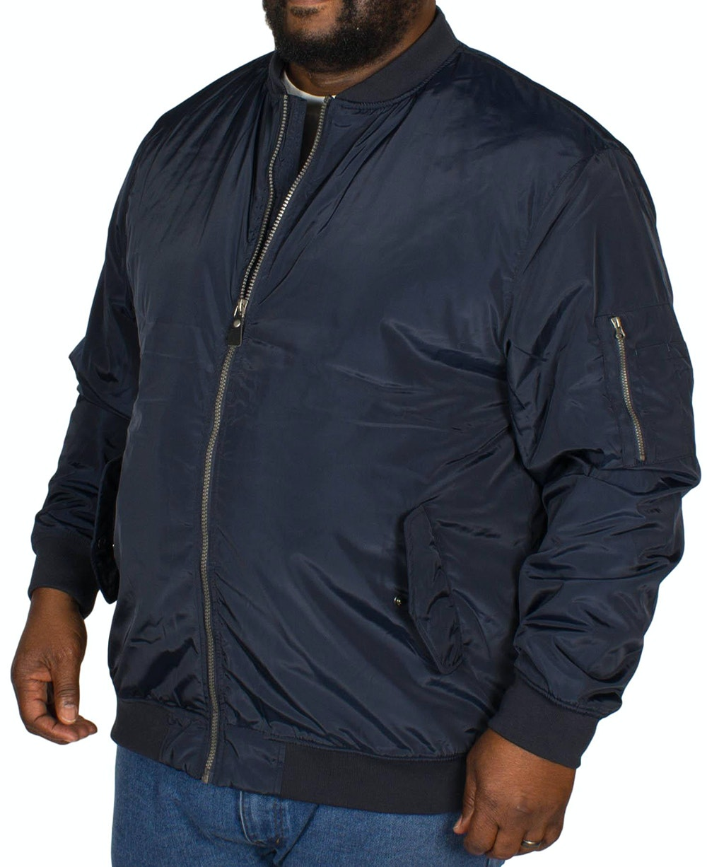 Espionage MA1 Bomber Jacket Navy