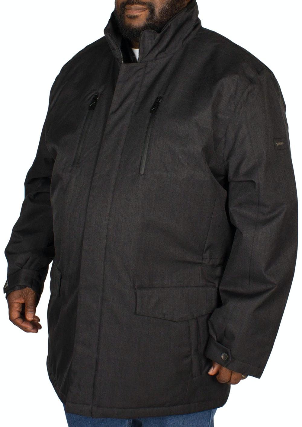Erla of Sweden Padded Coat Black
