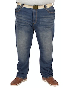 KAM Forge Belted Jeans