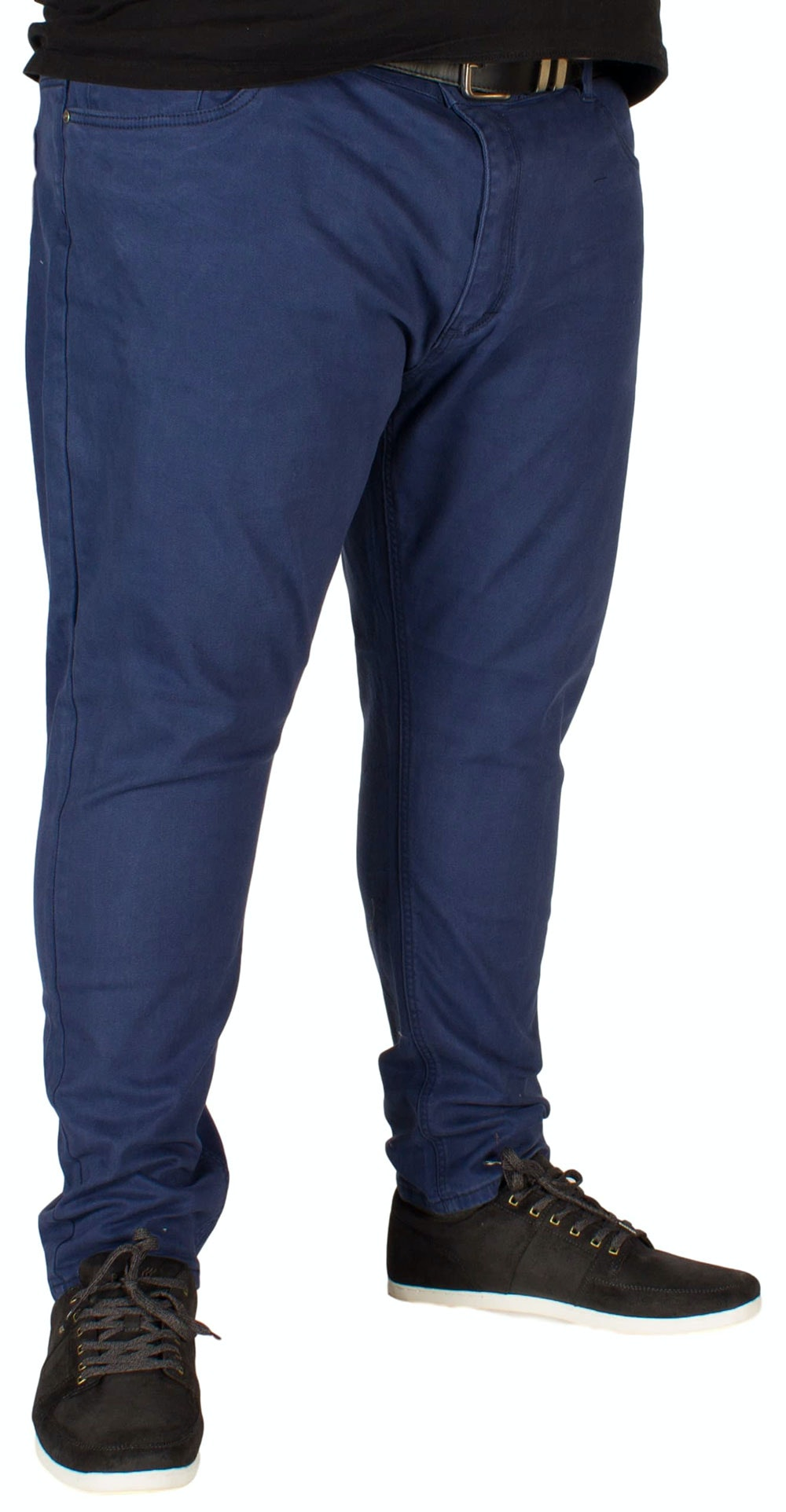KAM Alba Stretch Chinos Navy