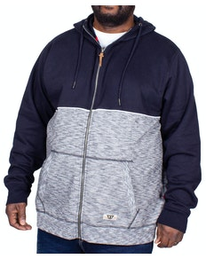 D555 Lamarsh Full Zip Hoody Navy