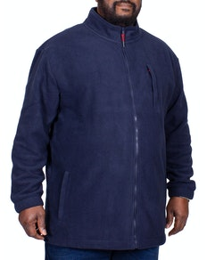 Bigdude Fleece Jacket Navy