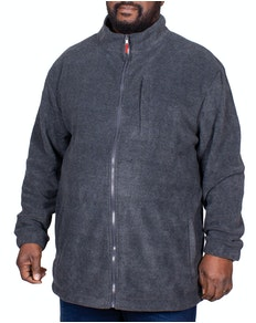 Bigdude Fleece Jacket Charcoal