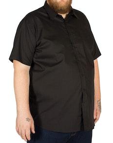 D555 Aeron Short Sleeve Classic Shirt Black