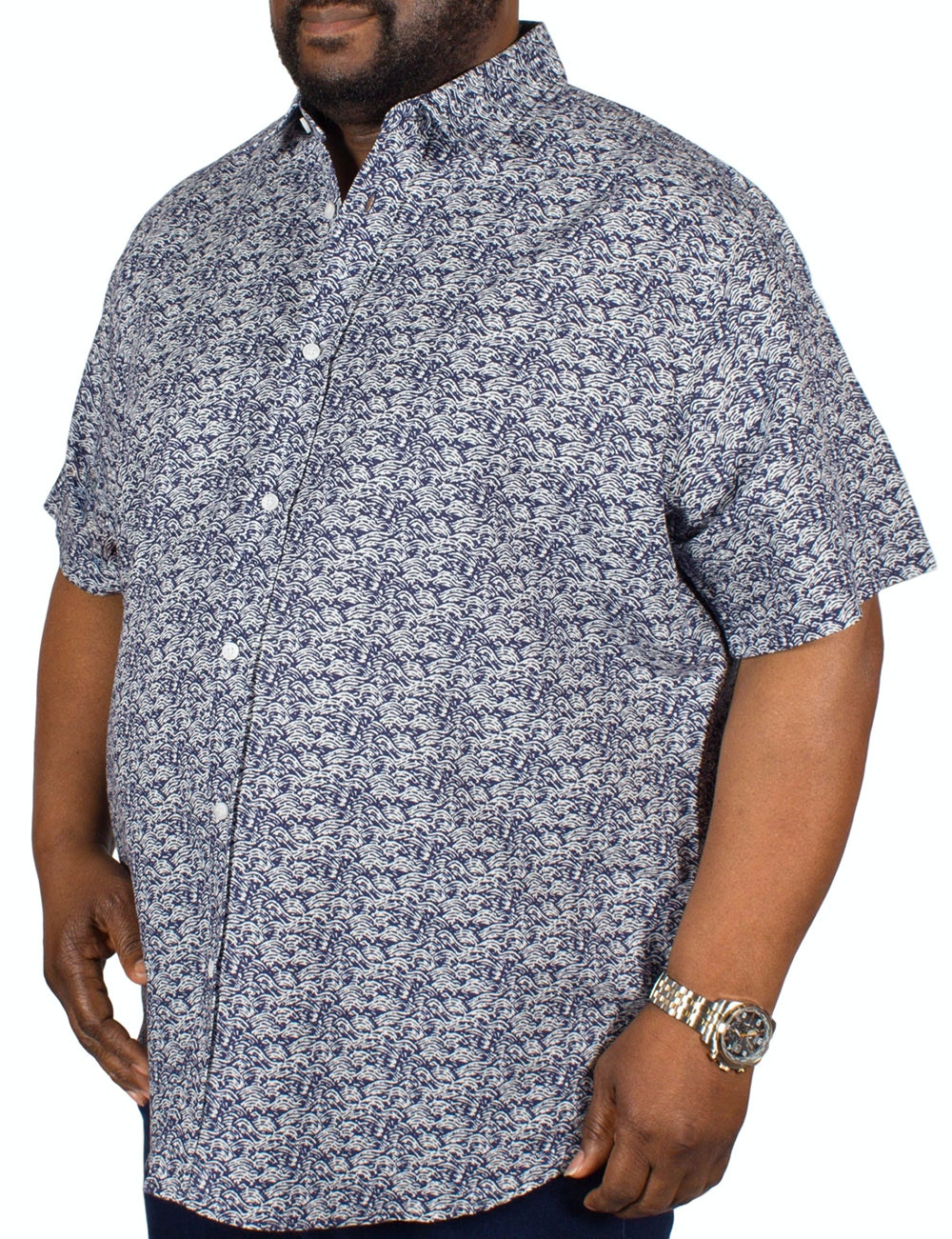 Replika Patterned Short Sleeve Shirt