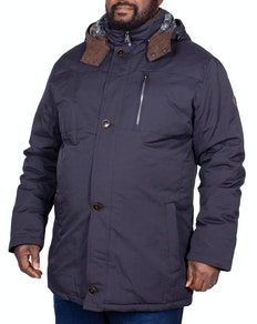 Erla of Sweden Parka Coat Navy