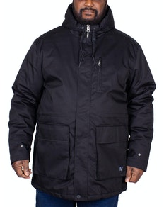 Replika Parka Jacket Black