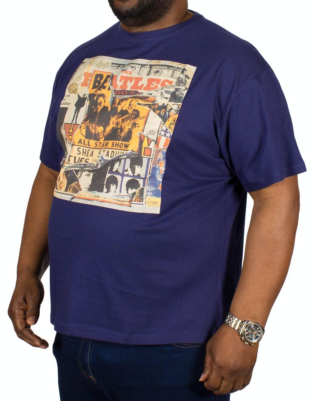 Replika Beatles Print T-Shirt
