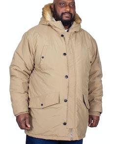 Bigdude Noel Parka Coat Stone