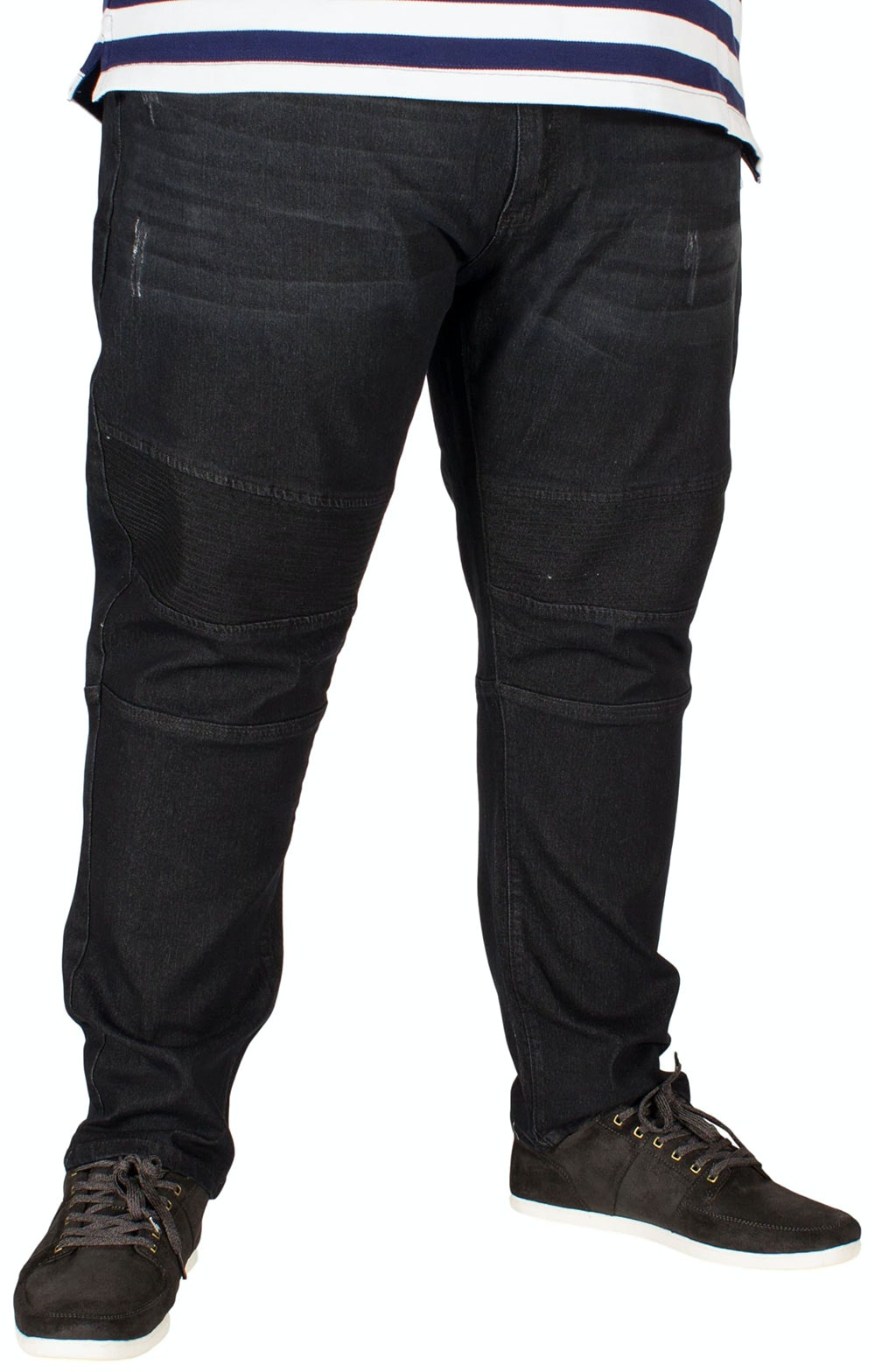 D555 Domenic Tapered Fit Biker Jeans