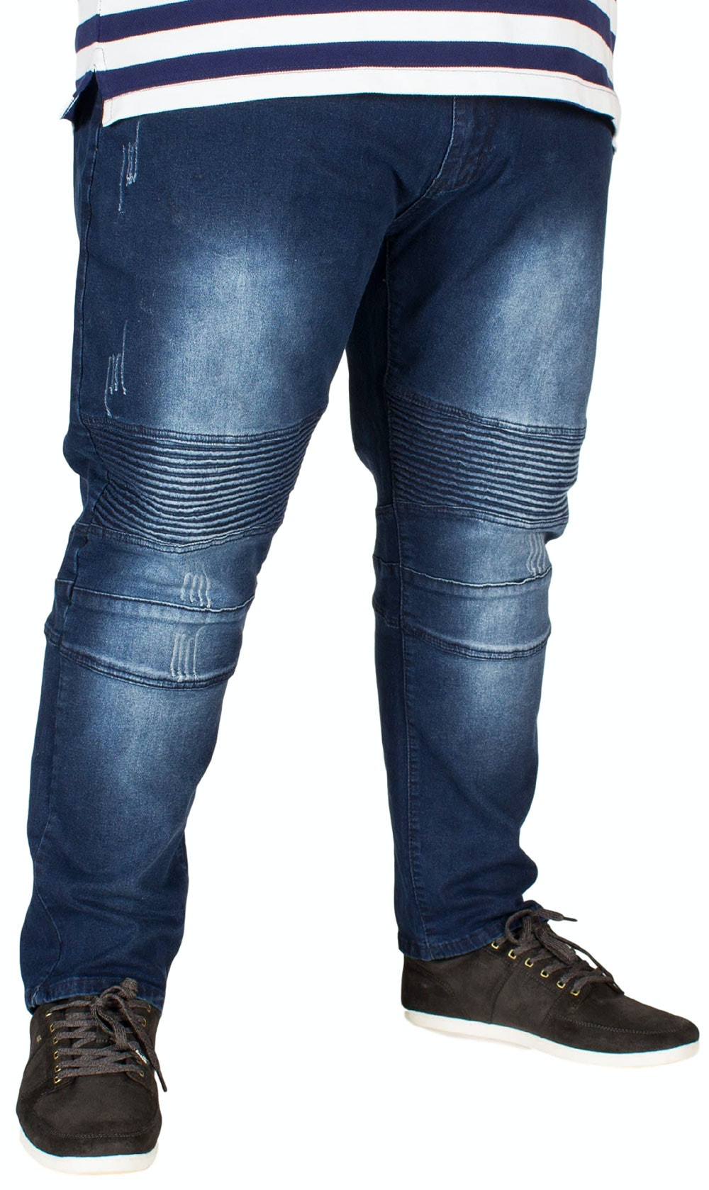 D555 Troy Tapered Biker Fit Jeans