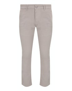 Bigdude Stretch Chino Trousers Stone