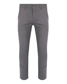 Bigdude Stretch Chino Trousers Grey