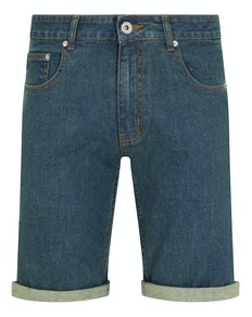 Bigdude Stretch Denim Shorts Tint Wash
